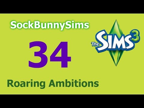 Sims 3 - Roaring Ambitions - Ep 34 - Driving Lesson