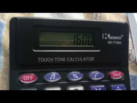 Cálculo de potencia en watts (rms)