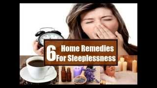 6 Home Remedies For Sleeplessness