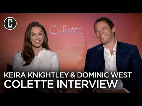 "Keira Knightley & Dominic West Talk about the ""Cool Hero"" at the Center of Colette"
