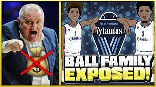 LITHUANIAN Head Coach EXPOSES The BALL Family! | BBB Not PAYING Again?