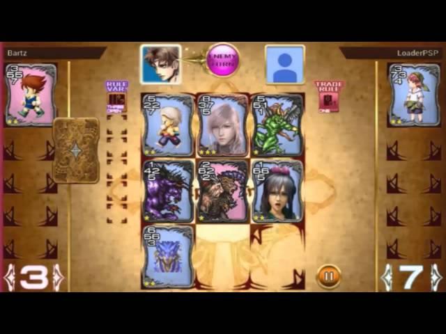 Final Fantasy Triple Triad - Cards - Online