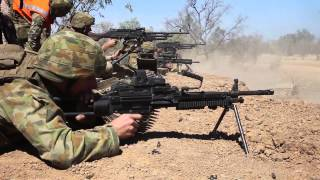 Integrated, live fire assault during Exercise Koolendong 13