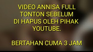 VIRAL || VIDEO HANNA ANNISA  FULL #2