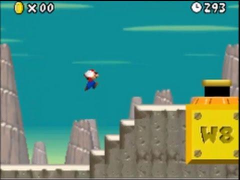 New Super Mario Bros  (Nintendo DS): Beta/Unused Level 6 / Unused Cannon  Level (World 6)