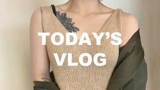 뜨개하는 브이로그 #3 knitting VLOG - 바…