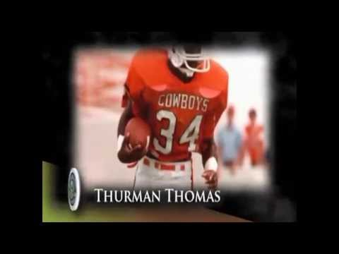 Thurman Thomas Football Tribute