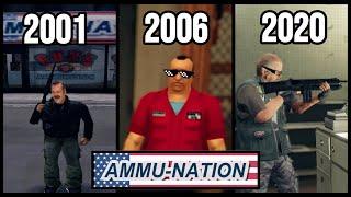 AMMU-NATION LOGIC in GTA Games (2001-2020)