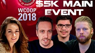 WCOOP $5K MAIN EVENT! 1.5 MILLION FOR FIRST!