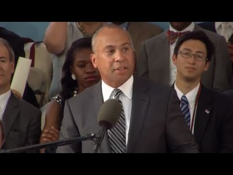 Former Massachusetts Governor Deval Patrick Address | Harvard Commencement 2015