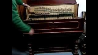 Organillo antiguo Luis Casali de 1900. Afinado.