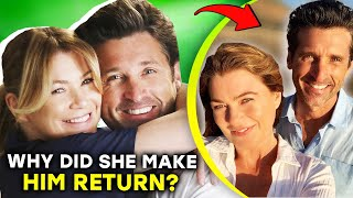 Grey's Anatomy: Why Patrick Dempsey Left AND Returned |⭐ OSSA