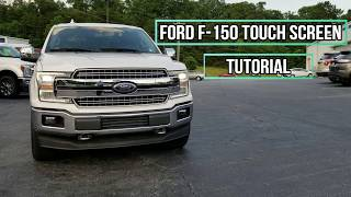 2018/2019 Ford F-150 Truck Touch Screen Tutorial