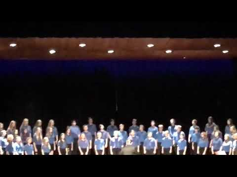 Edwardsburg Middle School 8th Grade Fall Concert- New York, New York