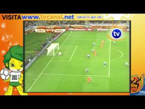 Uruguay vs Holanda 2-3 Semifinal Mundial 2010