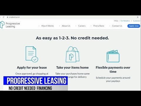 Progressive Leasing, Split Payments, No credit Needed, Finan