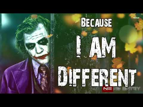 | I am different & | I don't care | Whatsapp status