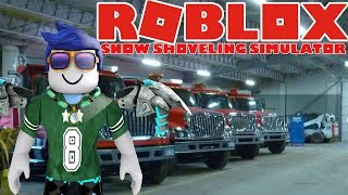 BUY ALL CARS!? #4 🏔 Snow Shoveling Simulator ❄️ English Roblox