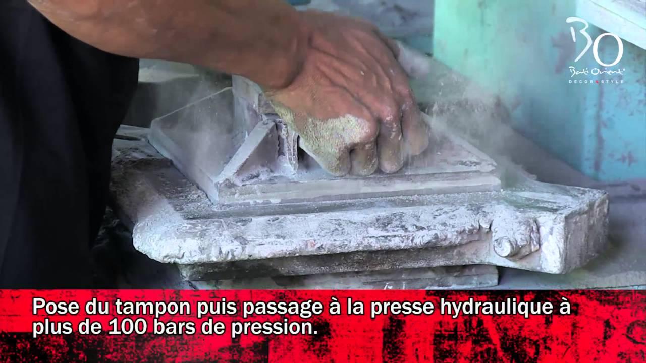 Amante Fabrication Carreaux ciment par Bati Orient - YouTube @LK_27