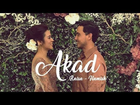 AKAD - Payung Teduh (Cover by Hanin Dhiya) [ Music Video + Lirik Raisa - Hamish Daud ]