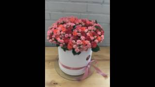 ЦВЕТЫ В ШЛЯПНОЙ КОРОБКЕ от Элитного букета!!! 101 веточная роза!!!(ЦВЕТЫ В ШЛЯПНОЙ КОРОБКЕ от Элитного букета!!! 101 веточная роза!!! Закажи доставку цветов в шляпной коробке..., 2016-07-19T16:52:45.000Z)