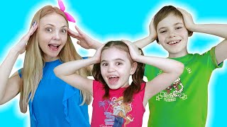 Head Shoulders Knees and Toes Exercise Song | 동요와 아이 노래 | 어린이 교육 | Polina Fun