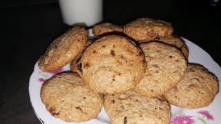 Неотрозимо вкусные овсяные печенье  !!!