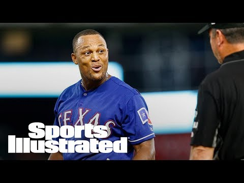 Texas Rangers' Adrian Beltre Ejected For Moving On-Deck Circle | SI Wire | Sports Illustrated