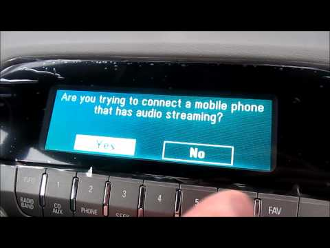Stream Music Through Bluetooth on 2012 Camaro