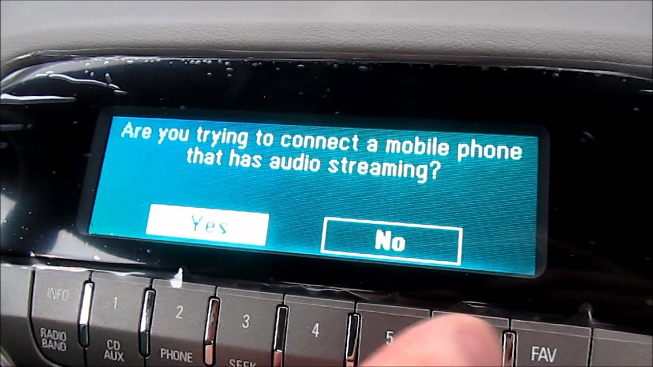 Stream Music Through Bluetooth on 2012 Camaro  YouTube