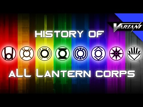 History Of All The Lantern Corps!