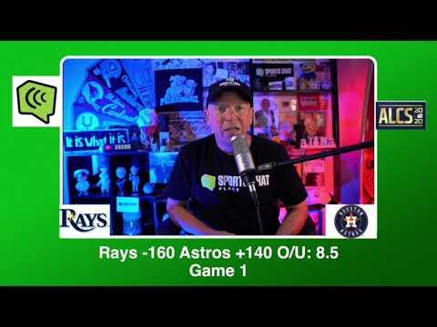 Houston Astros vs Tampa Bay Rays ALCS Game 1 Sunday 10/11/20 MLB Picks & Predictions