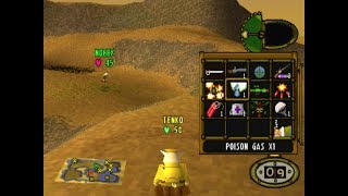 Hogs of War walkthrough PS1/PSX