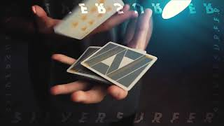Video: MAKO SILVER SURFER PLAYING CARD by GEMINI