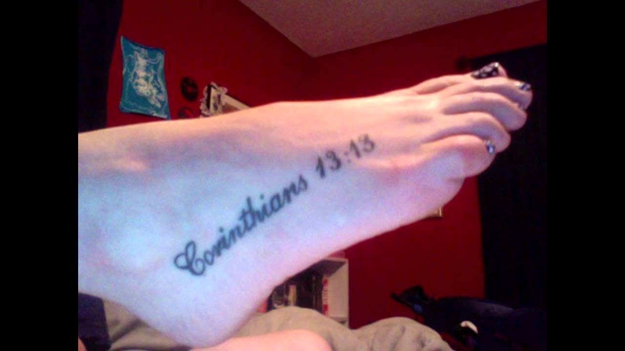 Tattoo Bible Quotes Popular Bible Verse Tattoos  Youtube