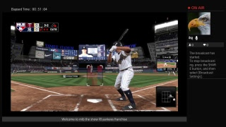 MLB THE show 18  yankees franchise Live stream
