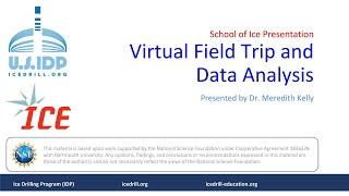 School of Ice Presentation Dr Meredith Kelly Virtual Field Trip