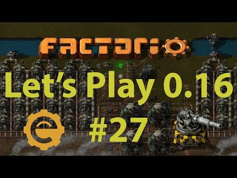 Factorio 0.16 Let's Play #27 - Solid fuel outpost