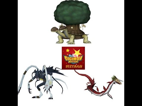 [Global Digimon Master Online] Killing Xuanwumon RAID Boss Dungeon - Typical Battle Strategy