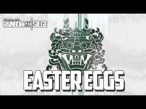 Rainbow Six Siege - Secretos/Easter Eggs (Operation White Noise)