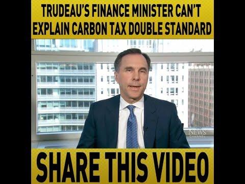 Justin Trudeau's Carbon Tax double standard