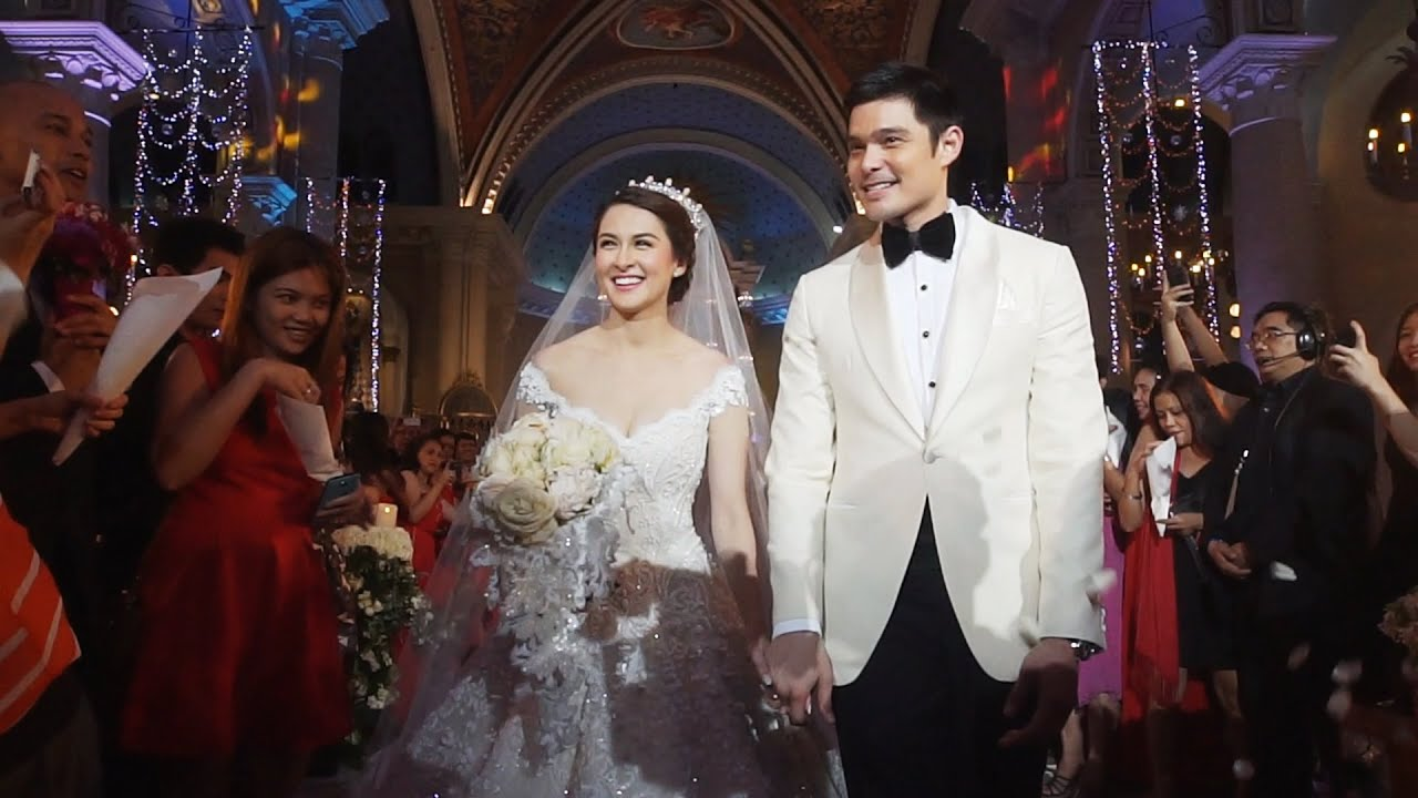 Image result for marian and dingdong wedding