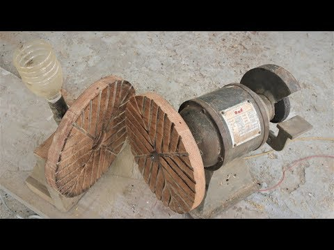 How to Make a Mini Rice Mill/Huller from a bench Grinder |DIY .