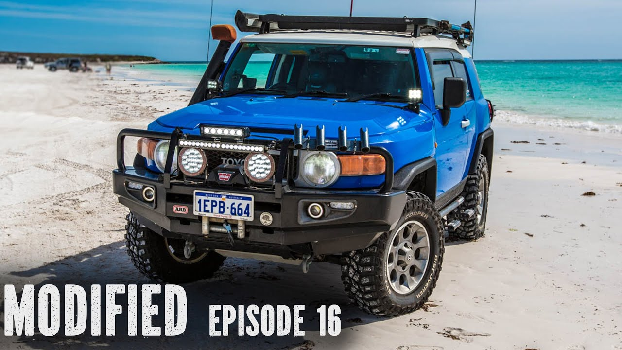 FJ Cruiser Modified Episode 16  YouTube