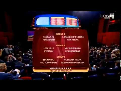 UEFA Europa League Draw: Group Stages 2014/2015