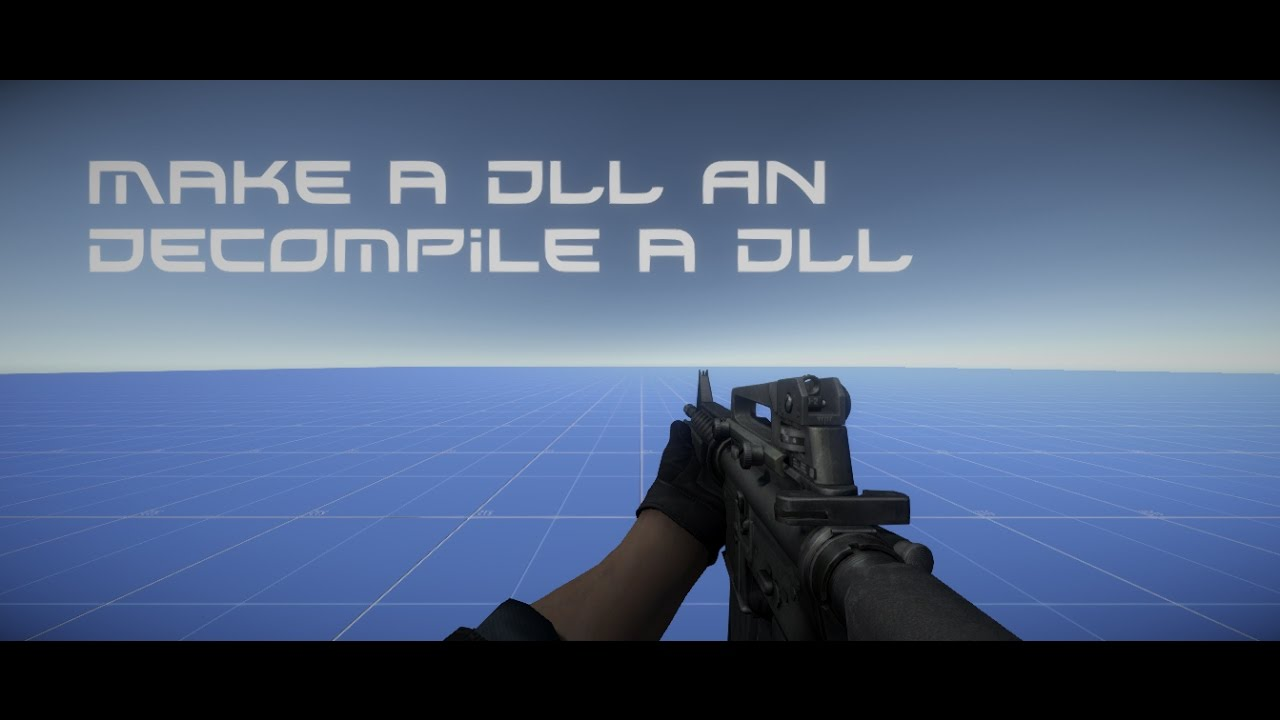 Unity 3D Tutorial Make a DLL and Decompile a DLL by War dawn