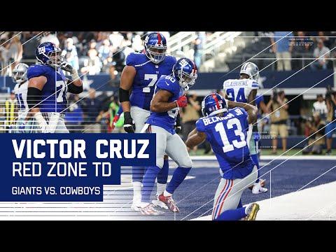 The Salsa is Back! Victor Cruz 1st TD Since 2014!  Giants vs. Cowboys  NFL