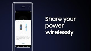Galaxy Fold: How to power up another device with Wireless PowerShare