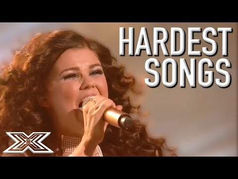 HARDEST Songs EVER On The X Factor? | X Factor Global