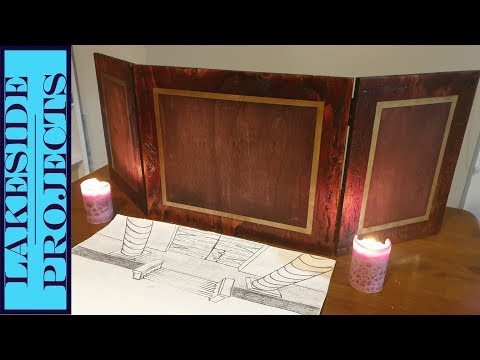 Dungeons & Dragons DM Screen // How to build your own